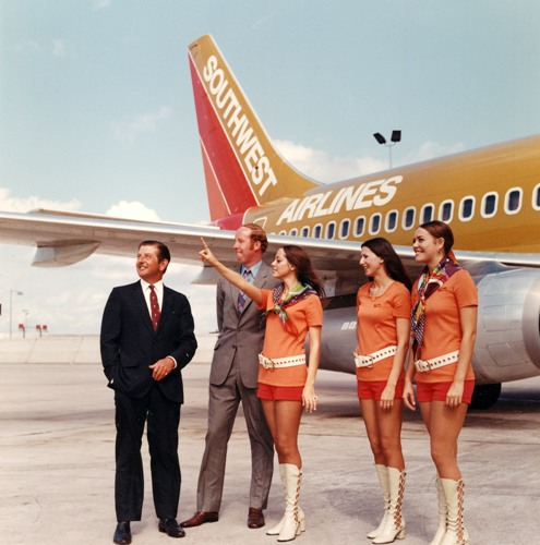 Southwest Airlines Vintage Photo