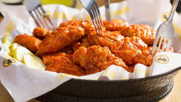 Buffalo Wild Wings Hot Wings