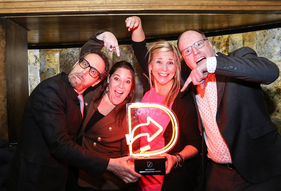 The Digiday Awards past winners