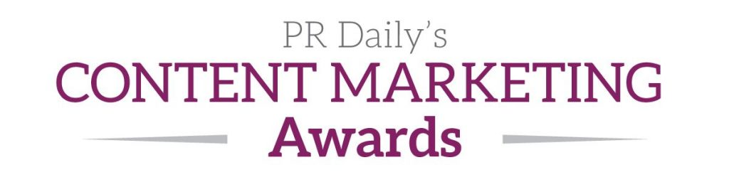 PR Daily's Content Marketing Awards logo