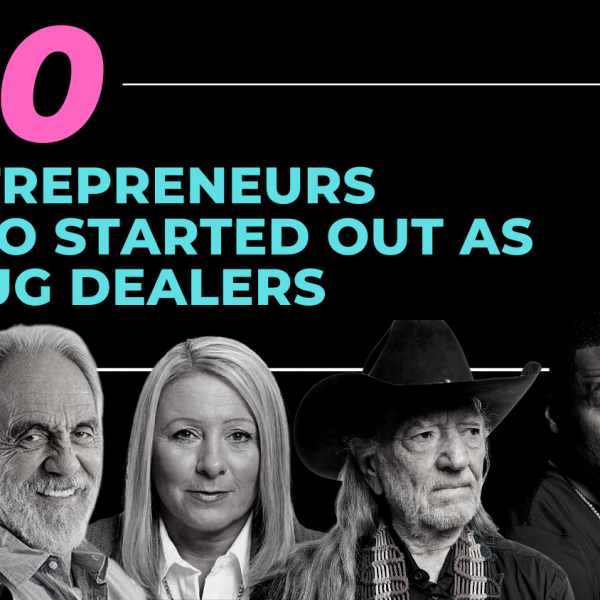 entrepreneurs as drug dealers