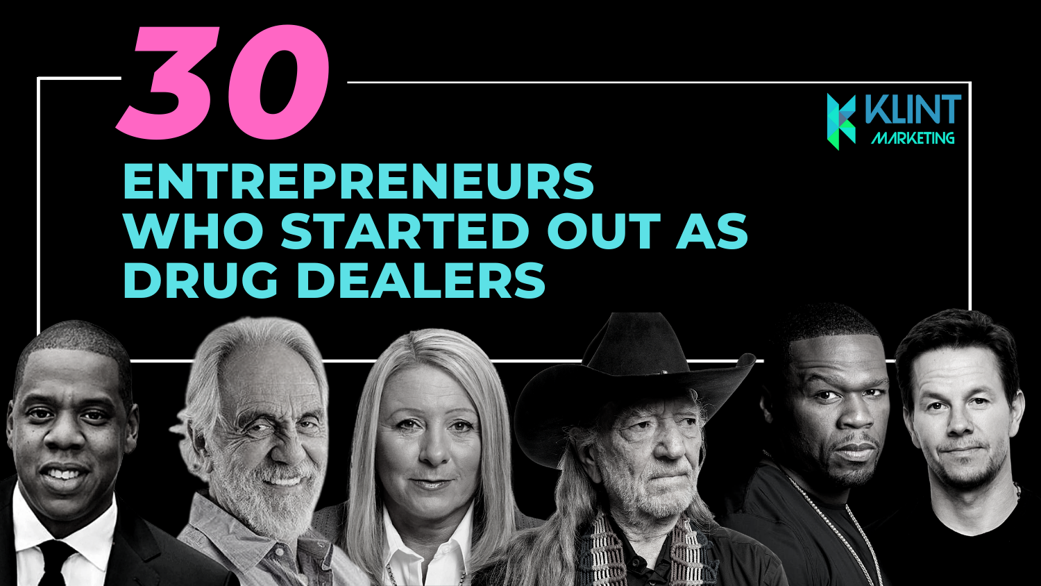 30 Entrepreneurs who started out as drug dealers