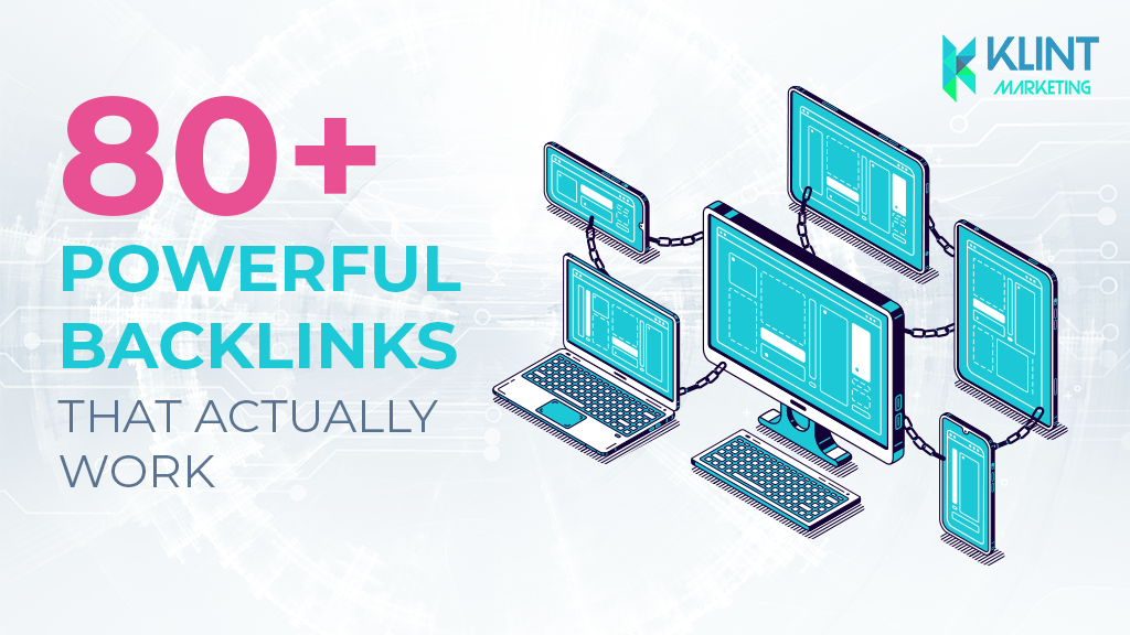 80+ Powerful Backlinks that actually work!