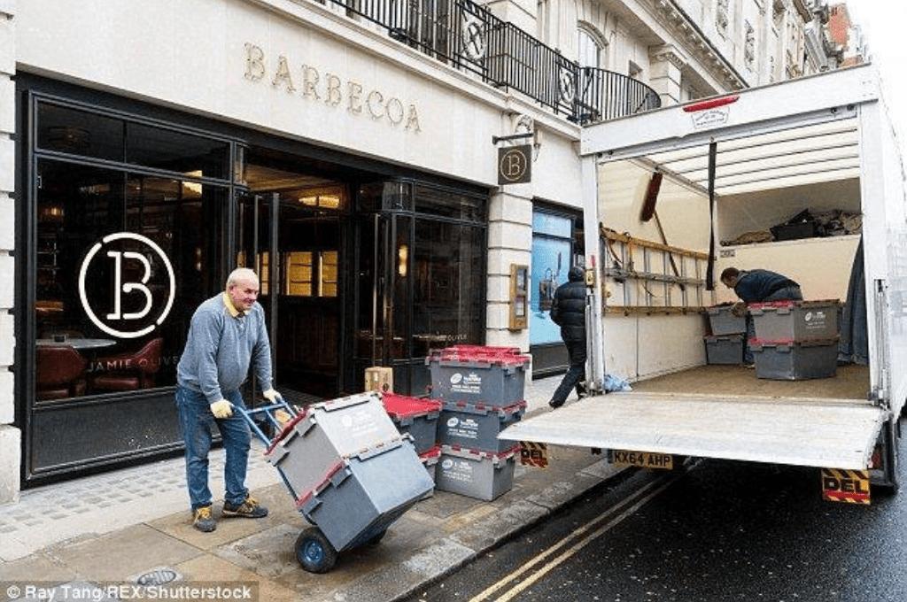 Restaurant closing down in London