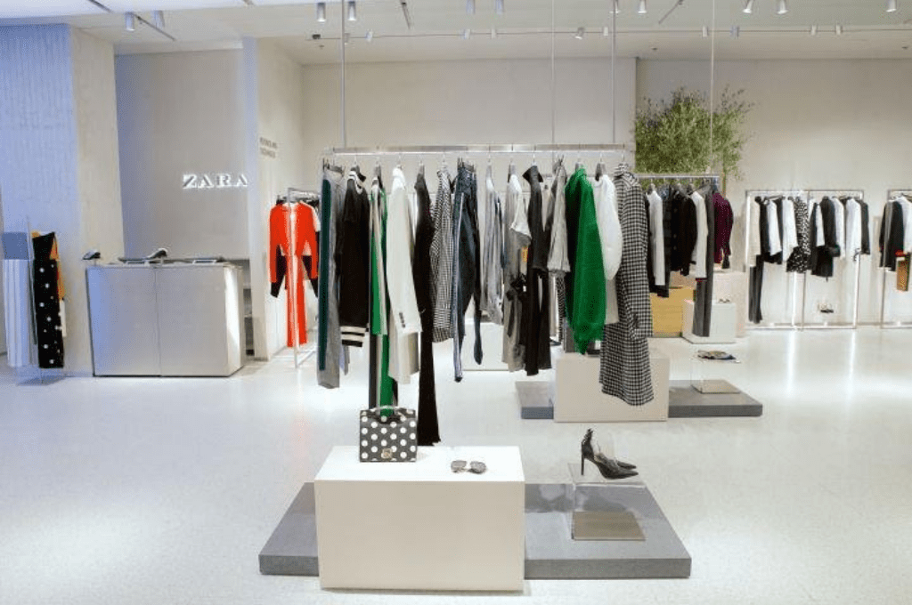 Zara's new collection in London