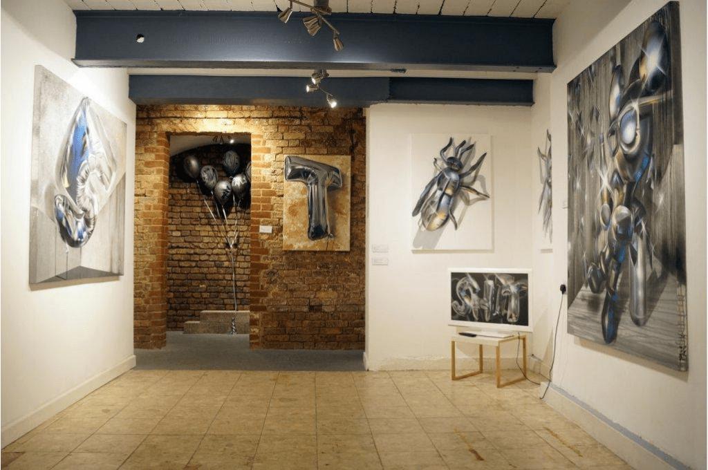 BSMT showroom in London