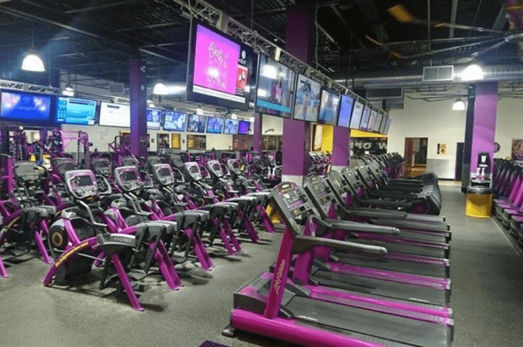 Planet fitness facilities in London