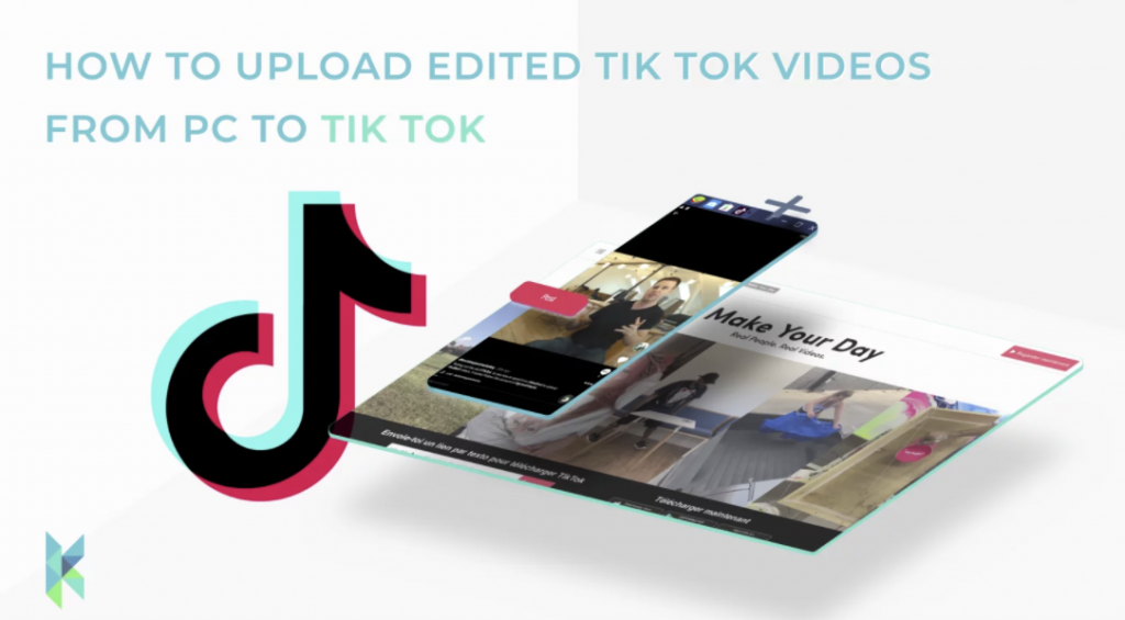 How to upload tiktok videos