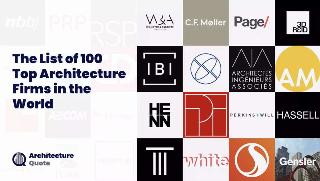 100 best architecture firms