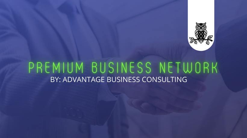 Premium Business Network Facebook group logo