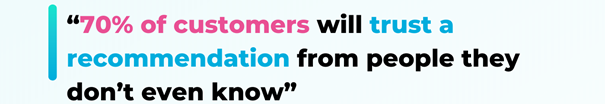 trust is key for customer perception