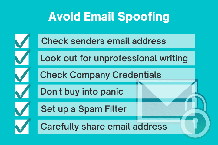 Main tips on how to stop email spoofing