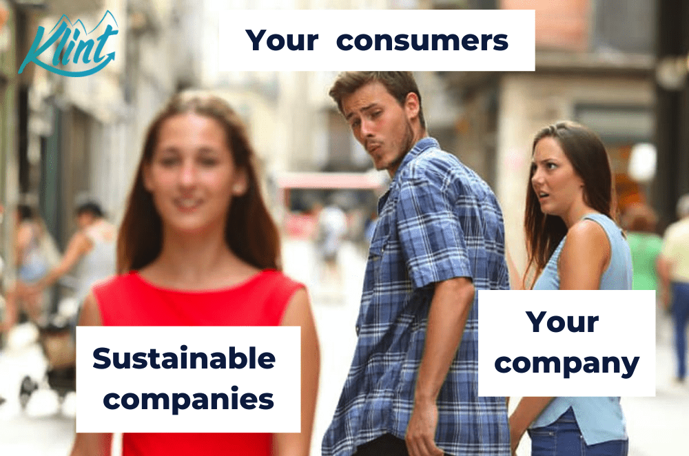 Consumers want companies to use sustainable marketing.