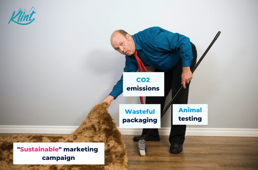 Sustainable marketing vs greenwashing.