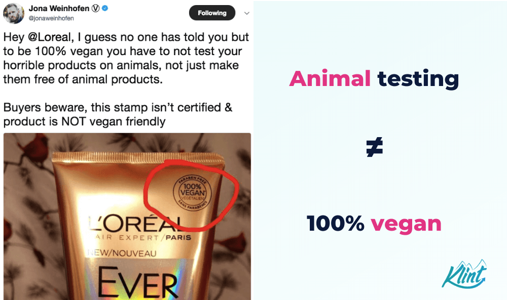 Consumers are calling out L'Oreal.