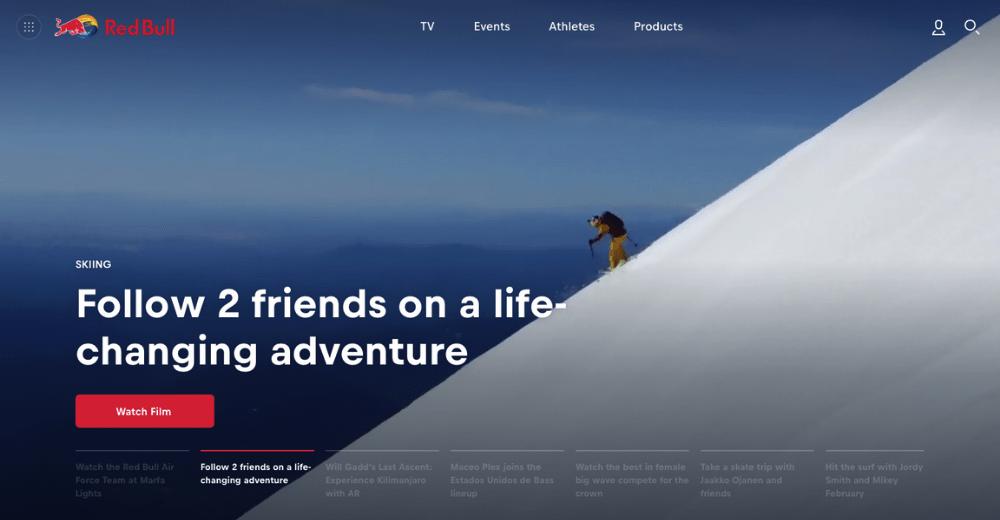 Red Bull's website.