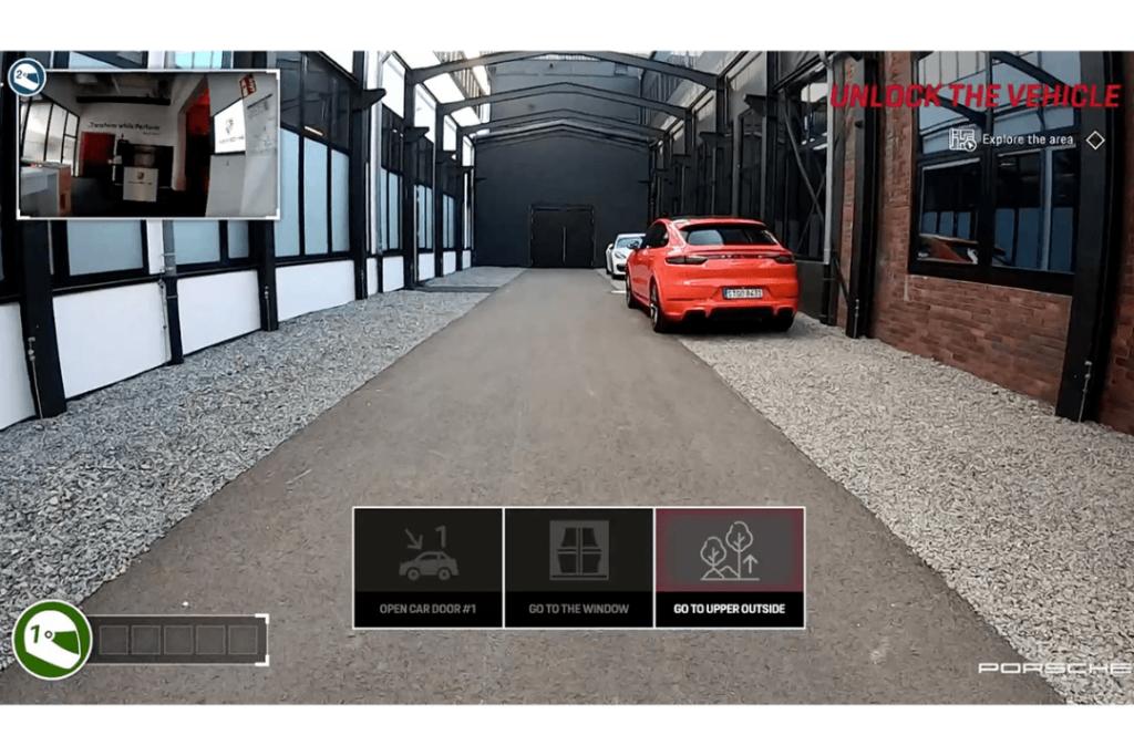 Screenshot from Porsche Formula E video Game