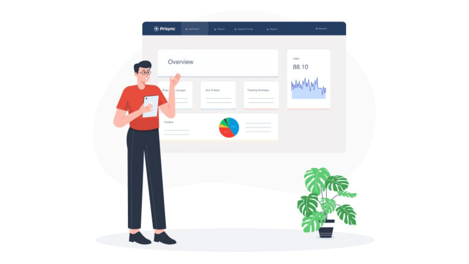 Competitor price tracking by Prisync
