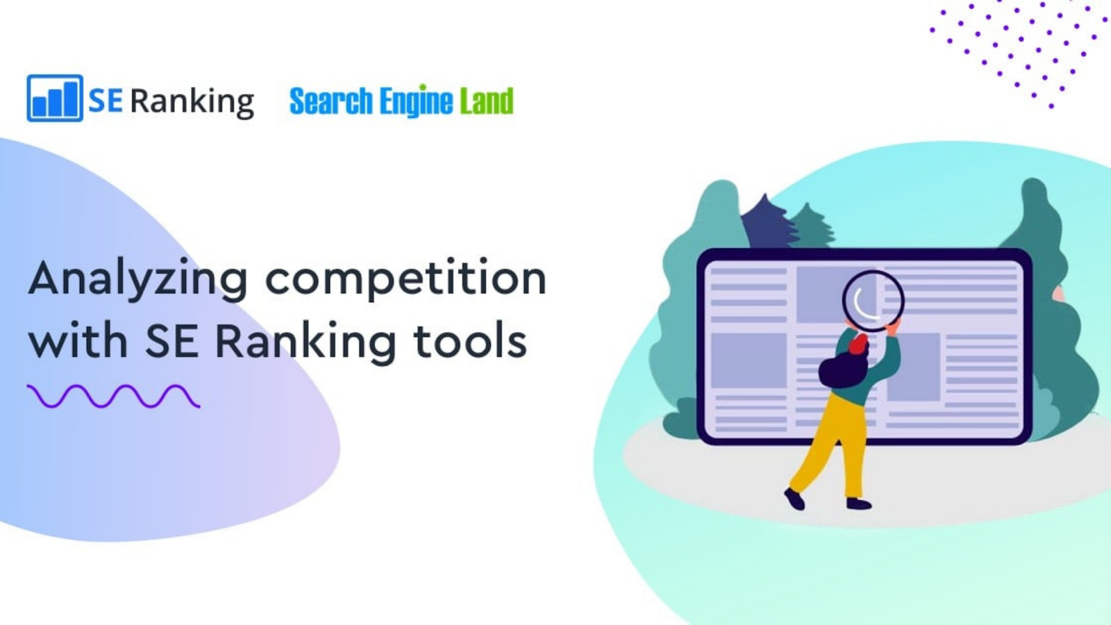 SE Ranking competitor research tool