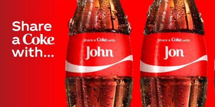 share a coke print ad campaign