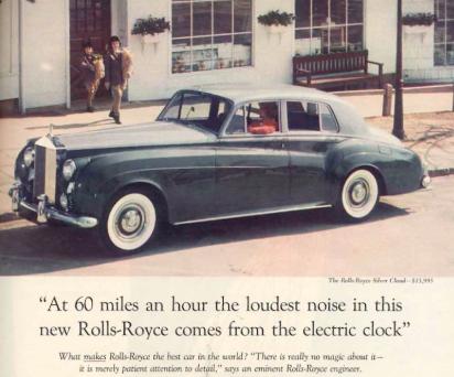 Rolls-Royce genius headline for their direct response copy