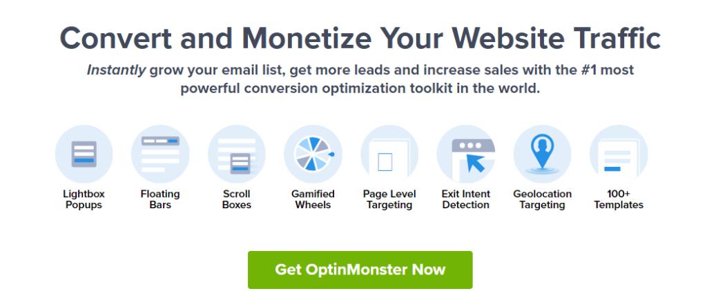 OptinMonster inducing direct response