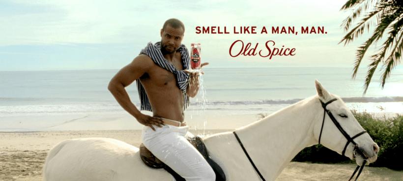 Old Spice ad campaign