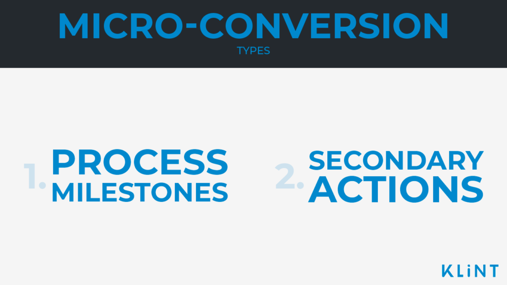 micro-conversion types