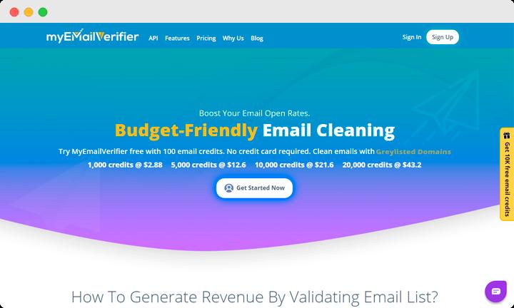 MyEmailVerifier features
