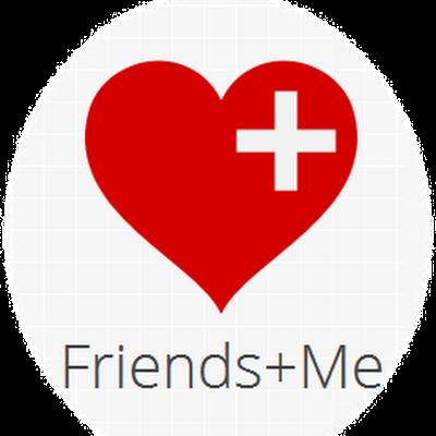 Friends + Me logo