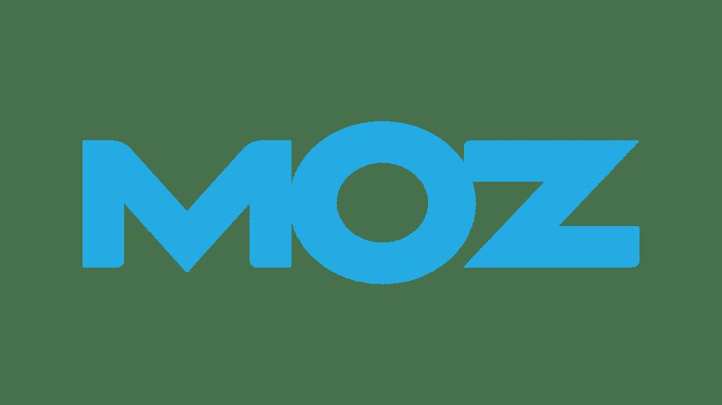 Blue moz sign