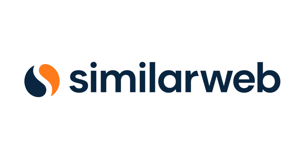 similarweb sign with the logo on the left