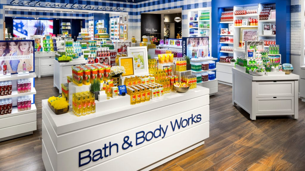 Bath and Body works store.
