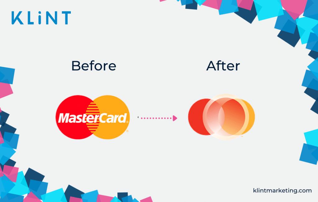 Mastercard bad logo redesign