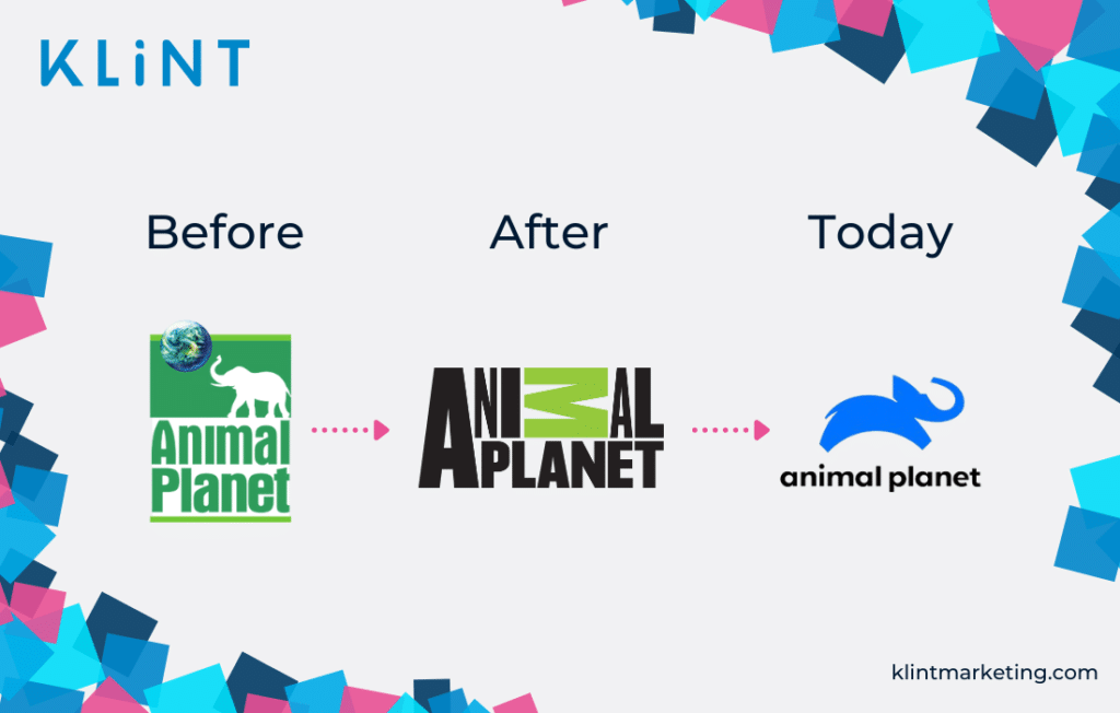 Animal Planet rebranding efforts.